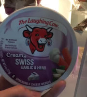 Laughing Cow The  Light Garlic & Herb Spreadable Cheese Wedges 8 ct uploaded by Kate V.