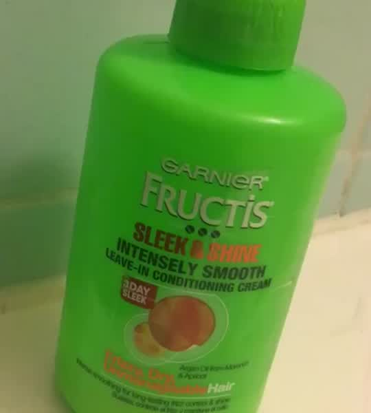 Garnier Fructis Sleek & Shine Leave-In Conditioner, 10.2 oz uploaded by Liz M.