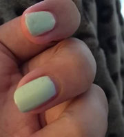 Sally Hansen Xtreme Wear Lacey Lilac, Pacific Blue and Mint Sorbet with Dimple Bracelet uploaded by Ayesha H.