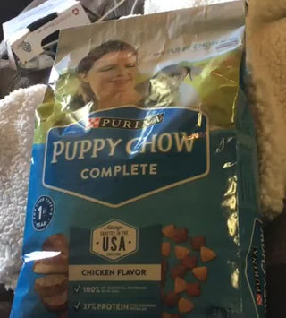 Video of PURINA® PUPPY CHOW® Complete Made With Real American-Raised Chicken uploaded by Stephanie S.