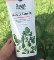 Nourish Organic™ Moisturizing Cream Face Cleanser Cucumber + Watercress uploaded by Ana S.