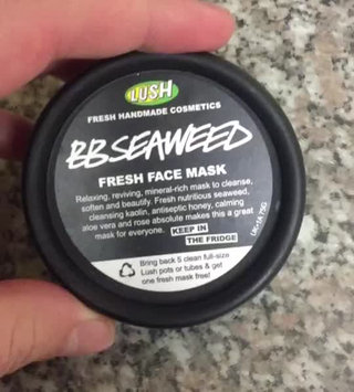 Video of LUSH BB Seaweed Fresh Face Mask uploaded by Paul Graham P.