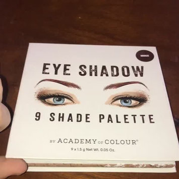 Video of Academy of Colour 9 Shade Eyeshadow Palette, Multicolor uploaded by brooklynn b.