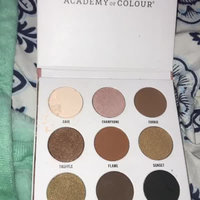 Academy of Colour 9 Shade Eyeshadow Palette, Multicolor uploaded by brooklynn b.