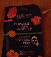Alba Botanica Hawaiian Detox Sheet Mask Anti-pollution Volcanic Clay uploaded by Manuela A.