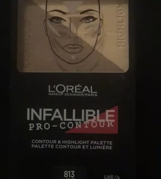 Video of L'Oréal Paris Infallible Pro Contour Palette Light/Clair 0.24 oz. Compact uploaded by Mari C.
