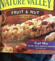 Nature Valley™ Chewy Granola Bars Fruit & Nut Trail Mix uploaded by Claire S.