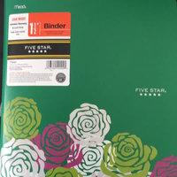 Mead Geometric Floral Poly Binder - 1 1/2