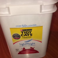 Tidy Cats Clumping Lightweight With Glade® Tough Odor Solutions Clear Springs® Cat Litter uploaded by Linda S.