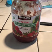 Kirkland Signature Organic Strawberry Spread - 42 Oz (2lb), Made with Fresh Strawberries, 65% Fruit, Preserves, Jam uploaded by Hilliary E.