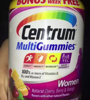 Centrum® MultiGummies® Women uploaded by Cheyenne V.