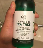 THE BODY SHOP® Tea Tree Skin Clearing Mattifying Toner uploaded by Kinza R.