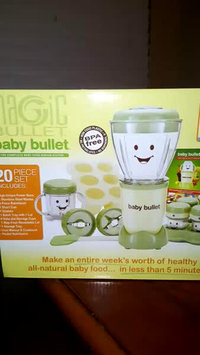 Video of Baby Bullet by Magic Bullet Complete Baby Food Prep System uploaded by Jennifer L.