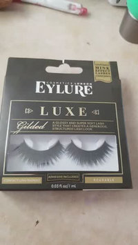 Video of Eylure Luxe Faux Mink Gilded Lashes uploaded by xochitl A.