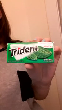 Video of Trident Spearmint uploaded by Sky H.