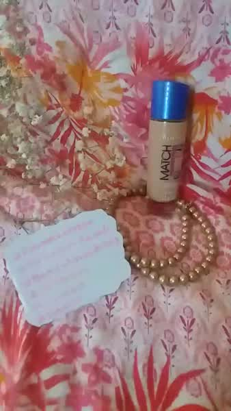 Rimmel London - Match Perfection Light Perfecting Radiance Foundation (SPF18) - 100 Ivory uploaded by Maritza A.