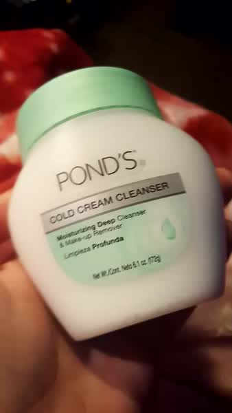 Pond's Cold Cream Cleanser uploaded by Brianna E.
