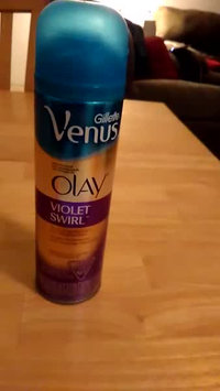 Video of Gillette Venus Ultramoisture Violet Swirl Shave Gel with Olay uploaded by Monica N.
