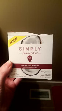 Video of Simply Summer's Eve Coconut Water Feminine Wipe - 14ct, None - Dnu uploaded by rori w.