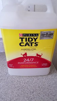 Video of Tidy Cats Scoop 24/7 Performance Cat Litter uploaded by Stephanie S.