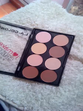 Video of L.A. Colors I Heart Makeup Contour Palette uploaded by Geraldine R.
