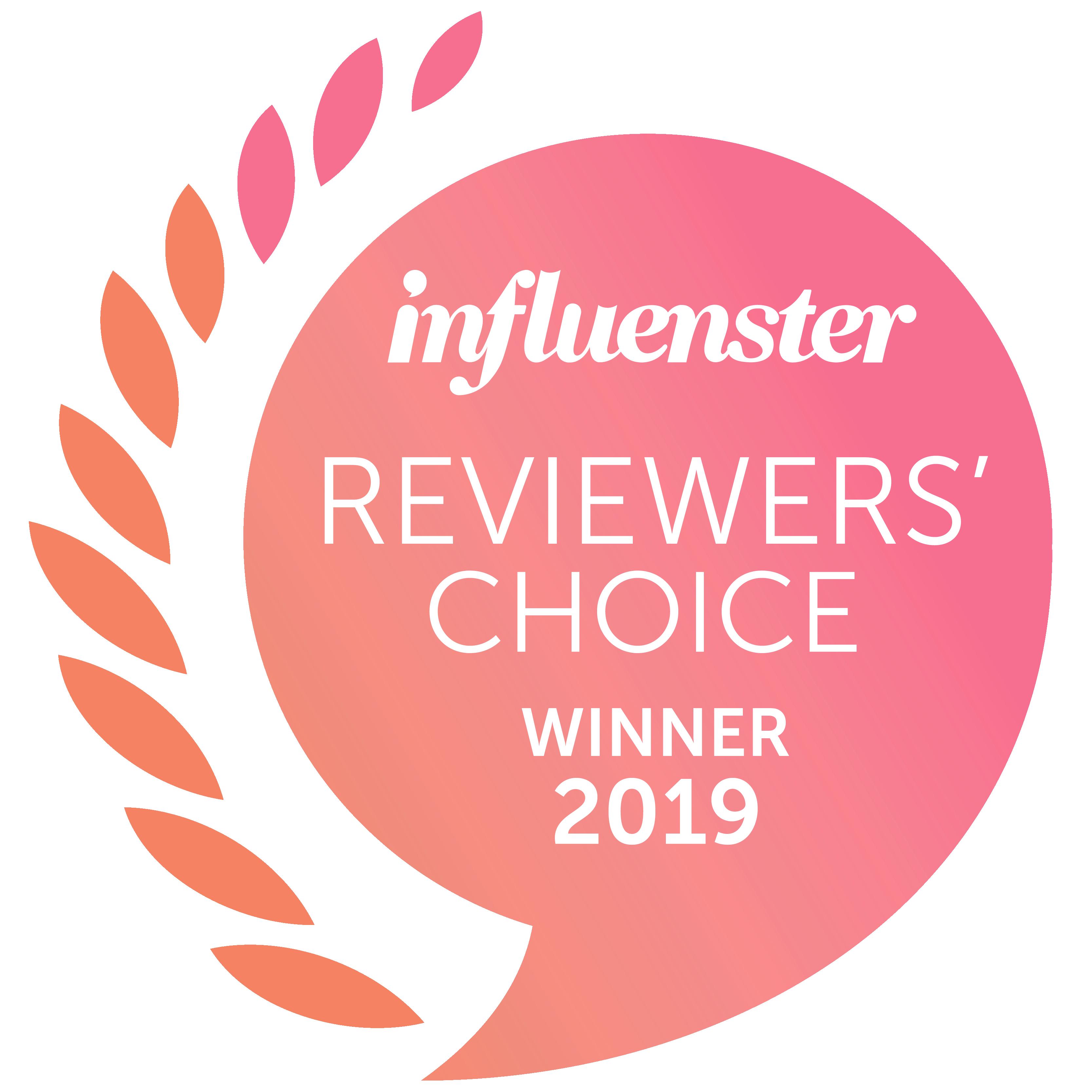 Influenster 2019 Reviewers' Choice Awards